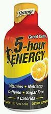 5 Hour Energy Drink Shot, Orange, 4 Count No box