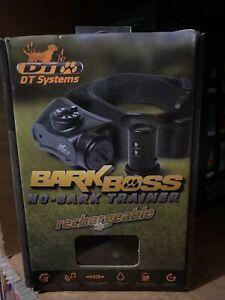 **NEW** D.T. Systems Bark Boss Rechargeable No Bark Collar Bark Boss Recharge