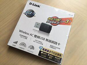 NEW D-LINK DWA-171 Wireless AC Dual-Band Nano USB Adapter