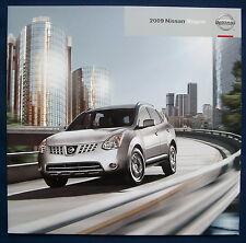 PROSPEKT BROCHURE 2009 Nissan Rogue (USA)