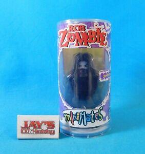 Rob Zombie Superbeast Figure Minimates Volume 1 2002 Art Asylum Cylinder Package