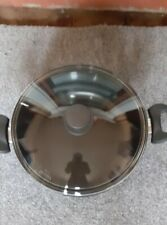 large non-stick two handled cooking pot