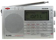 Grey TECSUN DR-920C digital Shortwave World Multi-Bands Radio