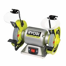Ryobi BENCH GRINDER 250W 150mm Wheels Magnifying Protective Lens Japanese Brand