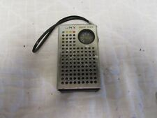 Vintage Sony Solid State Transistor Radio from Japan parts Radio Untested