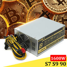 1600W Mining Machine Power Supply For Eth Bitcoin Miner Antminer S7 S9 Ethereum