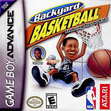 Backyard Basketball GBA New Game Boy Advance