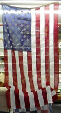 Large American Flag, Storm, 5' x 9' Top Quality Poly/Cotton, Great Condition