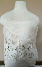 Women Lace Floral Bralette Bralet Bra Bustier Crop Top Sleeveless Cami Tank Tops