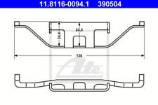 Original ATE 11.8116-0273.1 Bremssattelfeder für BMW