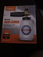 Matcc Foam Cannon Gun Kit Snow Foam Lance Blaster with 3200 Psi Pressure Washer