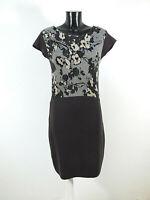 KENZO Damen Strick Kleid in Gr S - DE / Braun mit Muster Neuwertig  ( R 4734 )