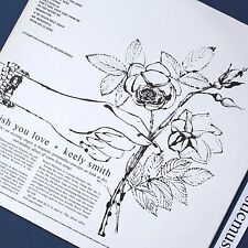 ANDY WARHOL ART COVER I WISH YOU LOVE VINYL LP CAPITOL REOCRDS EX+ RARE
