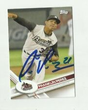 Detroit Tigers FRANKLIN PEREZ  Signed 2017 Topps Pro Debut Card #51