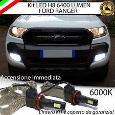 KIT FULL LED FORD RANGER LAMPADE H8 FENDINEBBIA CANBUS 6400 LUMEN 6000K