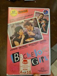 Bachelor Girl Rare Aussie PAL VHS Taft Light blue Video Big case  Ex-RENTAL