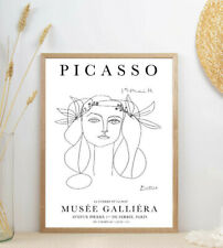 Pablo Picasso Exhibition Poster, Vintage Gift, Wall Art Decor Print