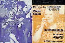 Díptico Teatral:La Abuela Echa Humo.Rafaela Aparicio,Celia Trujillo
