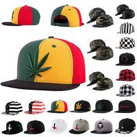 Unisex Baseball Hip-Hop Adjustable Cap Men&Women Snapback Bboy Baseball Hat UK