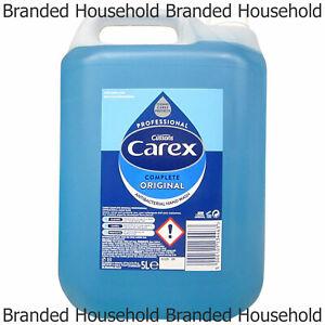 CAREX PROFESSIONAL COMPLETE ORIGINAL HAND WASH LIQUID SOAP REFILL 5L
