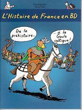 BD JOLY HEITZ L'HISTOIRE DE FRANCE EN BD T1ECOLE DES LOISIRS PORT A PRIX COUTANT