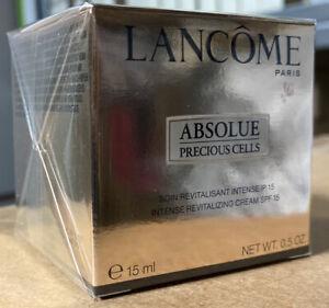 Lancome Precious Cells 15ml Brand New Sealed Travel Size