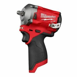 """Milwaukee M12 FUEL Stubby 3/8"""" Impact Wrench (Tool-Only) 2554-20"""