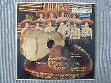 MARIACHI VARGAS DE TECALITLAN ~ EL MEJOR MARIACHI DEL MUNDO  VINYL RECORD LP