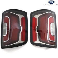 2016-2018 GMC Sierra LH & RH Rear Tail Lamps 84365930 84365931 Genuine OEM GM
