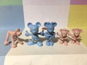 Marx Mickey Mouse characters Walt Disney Television Playhouse plastic figures