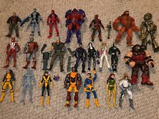 Marvel Legends Lot Of 22 X-men Figures BAF Juggernaut Rogue Deadpool Onslaught