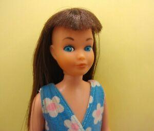Vintage Barbie Skipper TNT Brunette #8519 European RARE w/ Original Swimsuit