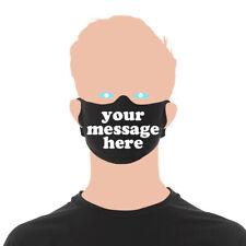 Custom Reusable Lightweight Daily Face Mask  | Custom Printed Message