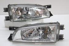 Subaru JDM Impreza GC8 GF8 STi Front CRYSTAL Headlight Head Lights Lamps WRX OEM