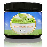 Bee Venom Mask Cream for Day or Night w/ Manuka Honey, Hyaluronic Acid, and Shea