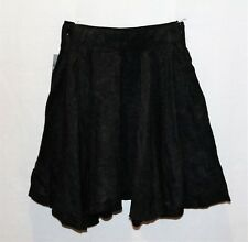 ZARA Brand Grey Elastic Waist Skater Skirt Size XS BNWT #SE59