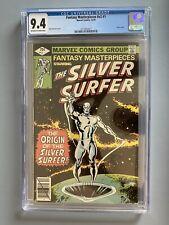MARVEL COMICS CGC 9.4 FANTASY MASTERPIECES #v2 #1 12/79 Silver Surfer