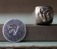 SUPPLY GUY 6mm Sparrow Bird Metal Punch Design Stamp SGCH-100