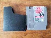 "GOLGO 13 Top Secret Episode ""No Box"" NES Game"