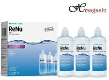 Bausch + Lomb Renu MPS Gentle Contact Lens Solution For Sensitive Eyes 3 X 240ML