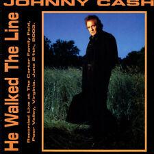 Johnny Cash He Walked The Line Soundgarden NIN Pearl Jam Red Rockers Import LP