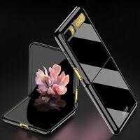 Electroplating Phone Case Shell Skin for Samsung Galaxy Z Flip/F7000/F7070 Phone