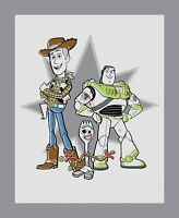 Springs Disney Toy Story 4 Friends Panel 70326 100% Cotton Fabric by the Panel