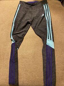 Girls Adidas Running Leggings Large L 12/14