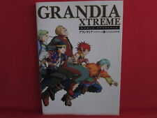 Grandia Xtreme official analytics illustration art book