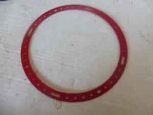 MECCANO Red  7.5 inch  Circular Strip No 145
