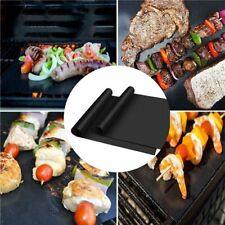 5pcs Tapis de Barbecue Réutilisable Feuille de Cuisson Grill BBQ Anti-adhésif