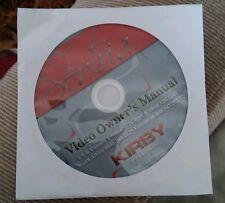 000 Kirby Video Owners Guide Manual Dvd Sentria Vacuum Cleaner