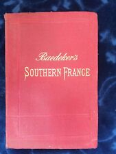 Southern France including Corsica. Handbook for Travellers. 1914 Hardcover