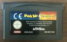 2 in 1 Shark Tale & Shrek 2 for Nintendo Gameboy Advance GBA - Genuine